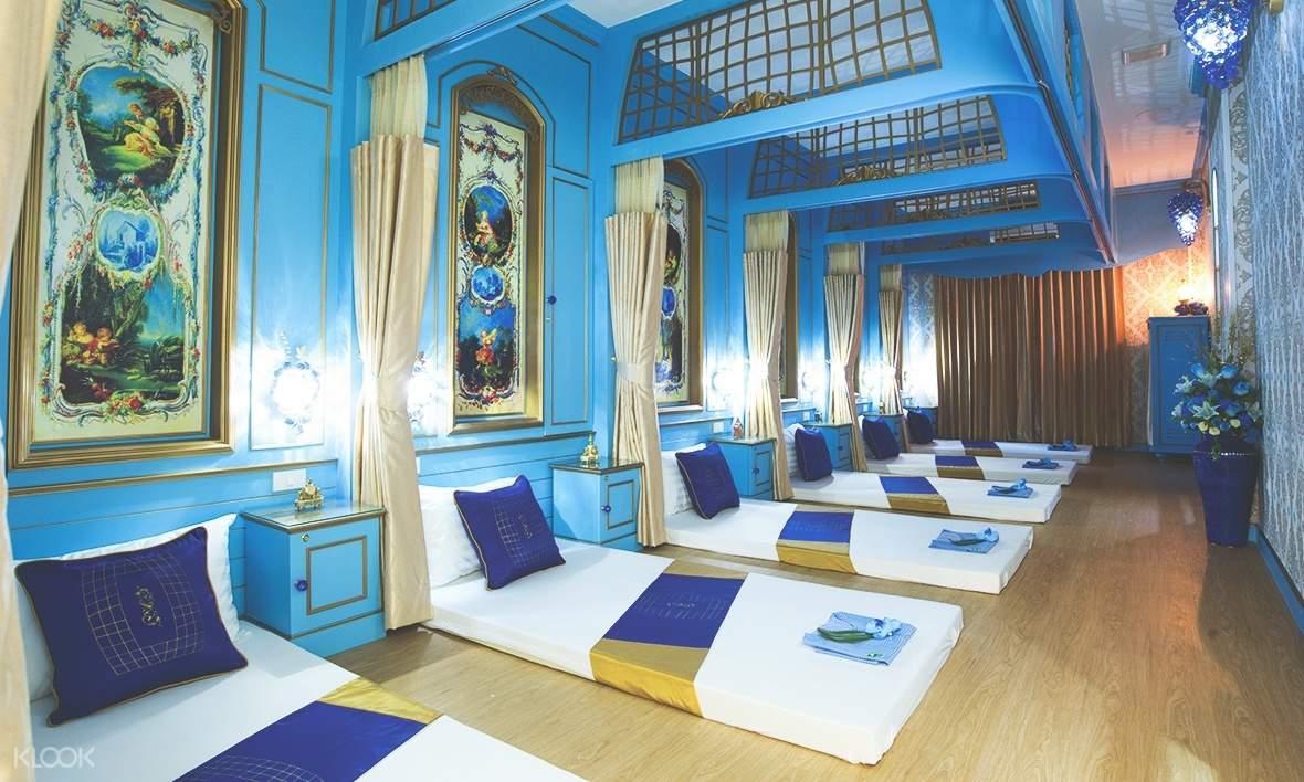 massage mattresses on the floor